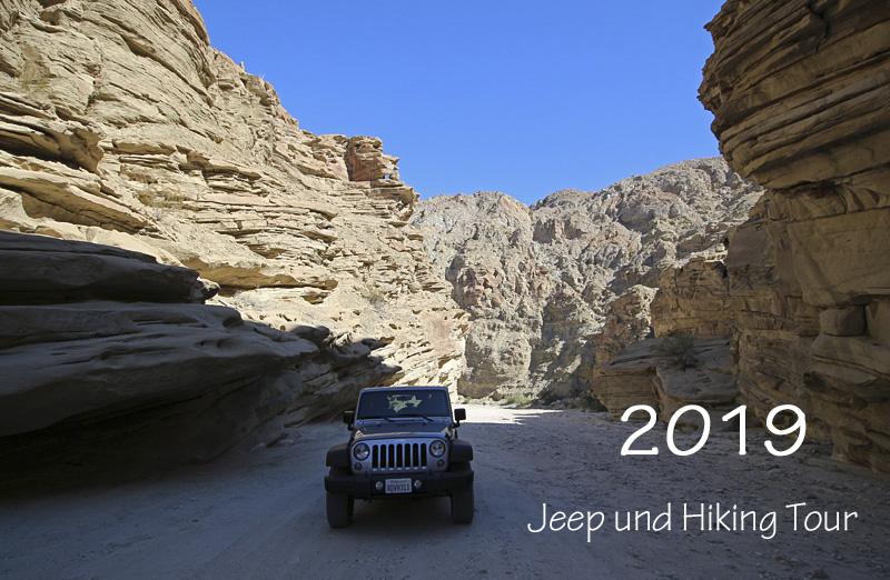 Jeep und Hiking Tour 2019